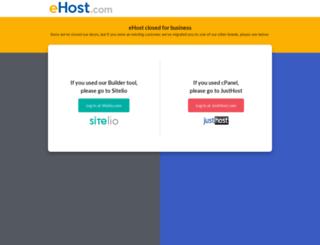 secure.ehost.com screenshot