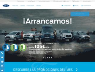 secure.ford.es screenshot