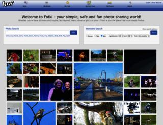 secure.fotki.com screenshot