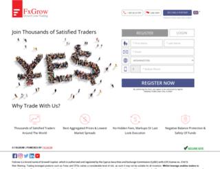 secure.fxgrow.com screenshot