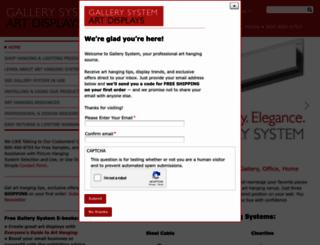 secure.gallerysystem.com screenshot