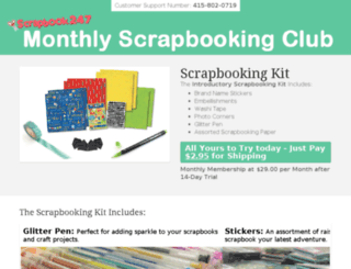 secure.getscrapbookingkit.com screenshot