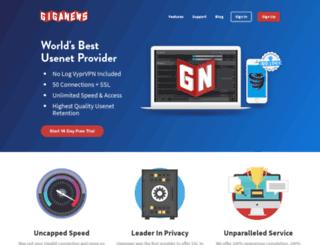 secure.giganews.com screenshot