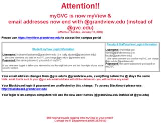 secure.grandview.edu screenshot