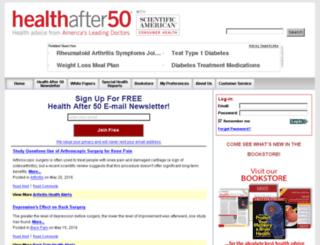 secure.healthafter50.com screenshot