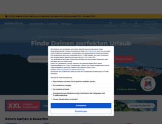 secure.holidaycheck.de screenshot