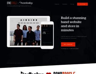 secure.hostbaby.com screenshot
