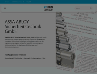 secure.ikon.de screenshot