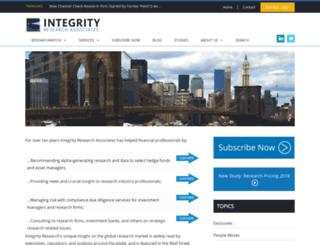 secure.integrity-research.com screenshot