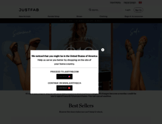 secure.justfab.ca screenshot