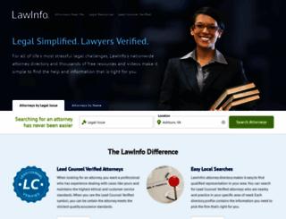 secure.lawinfo.com screenshot
