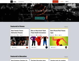 secure.list.ly screenshot