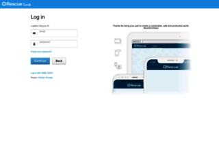 secure.logmeinrescue-enterprise.com screenshot