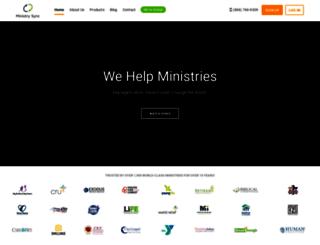 secure.ministrysync.com screenshot