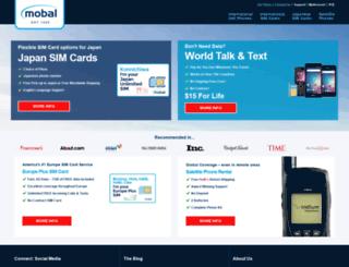 secure.mobal.com screenshot