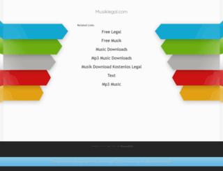 secure.musiklegal.com screenshot