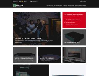 secure.netup.biz screenshot