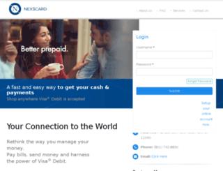 secure.nexiscard.com screenshot