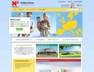 secure.novasol.com screenshot