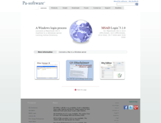 secure.pa-software.com screenshot