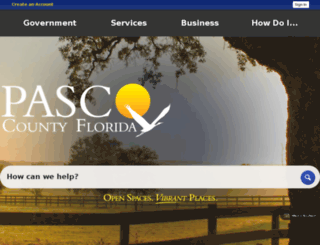 secure.pascocountyfl.net screenshot