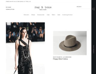 secure.rag-bone.com screenshot