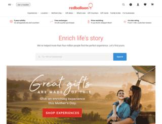 secure.redballoon.com.au screenshot