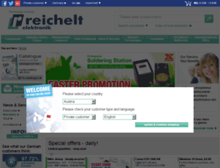 secure.reichelt.com screenshot