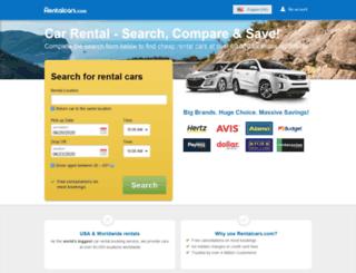 secure.rentalcars.com screenshot