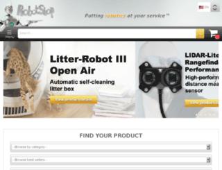secure.robotshop.com screenshot