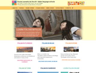 secure.scuolaleonardo.com screenshot