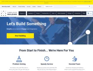 secure.simplifiedbuilding.com screenshot