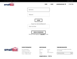secure.smallbiz.com screenshot