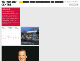 secure.southbankcentre.co.uk screenshot