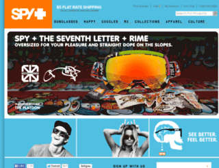 secure.spyoptic.com screenshot