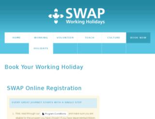secure.swap.ca screenshot