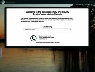 secure.tennesseetrustee.org screenshot