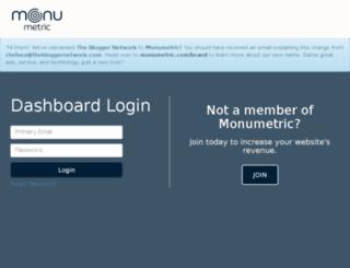 secure.thebloggernetwork.com screenshot