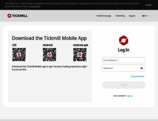secure.tickmill.com screenshot