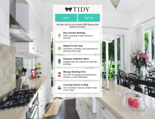 secure.tidy.com screenshot