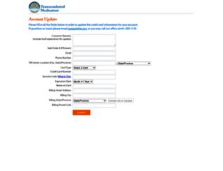 secure.tm.org screenshot