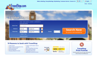 secure.travelstay.com screenshot