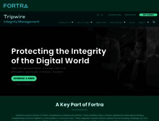 secure.tripwire.com screenshot