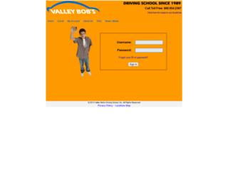 secure.valleybobs.com screenshot