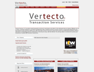 secure.vertecto.com screenshot