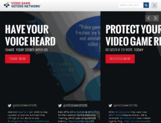 secure.videogamevoters.org screenshot