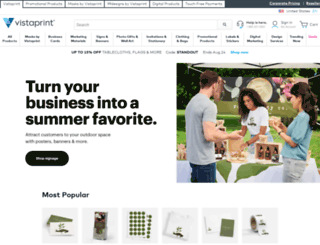 secure.vistaprint.com screenshot