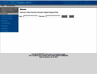 secure.waketech.edu screenshot