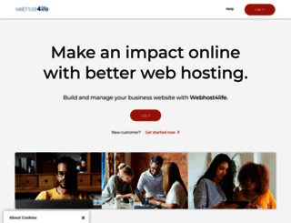 secure.webhost4life.com screenshot