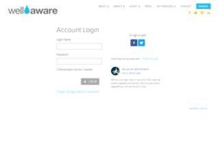 secure.wellawareworld.org screenshot